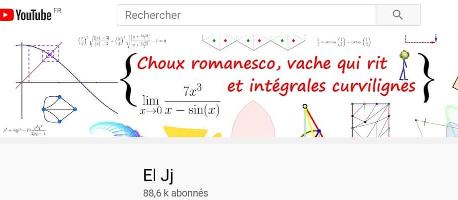 Lien vers la Chaîne youtube El Ji, nouvel onglet