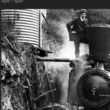 Image d'archive du Transsibérien