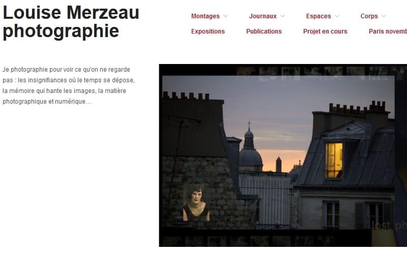 Accès au blog Louise Merzeau Photographie, nouvel onglet