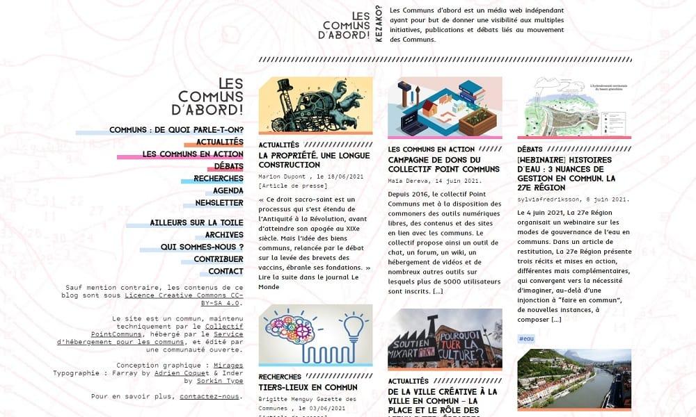 Lien vers la page d'accueil du site Les communs d'abord, nouvel onglet